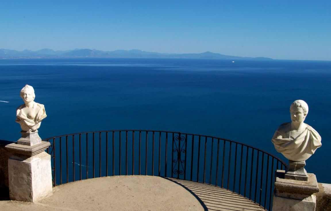 Вид из Виллы Чимброне или там где хочется летать