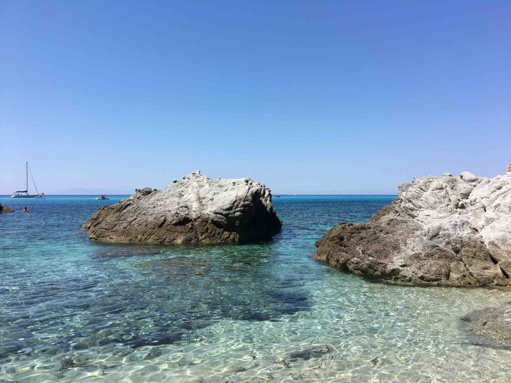 Пляж Тропеа Гроттичелле