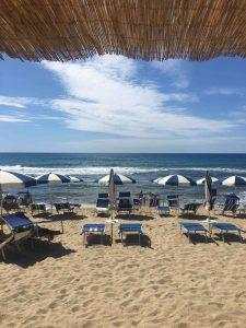 пляж в отеле Салине