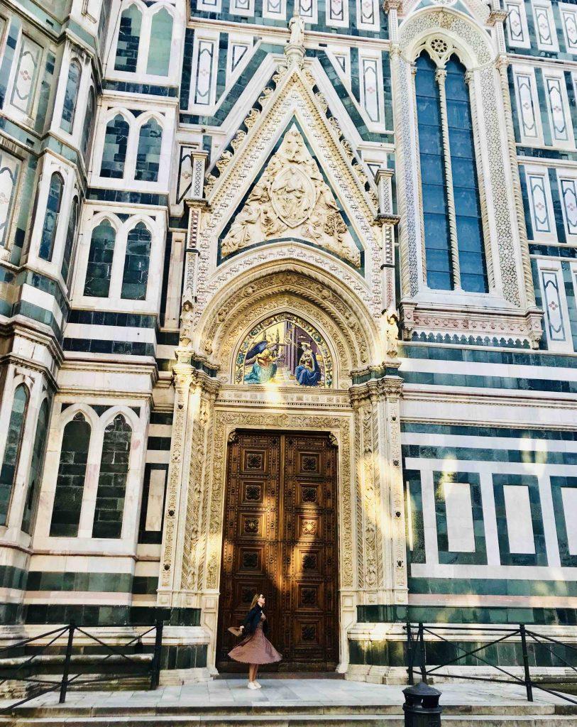 Я у собора Флоренции