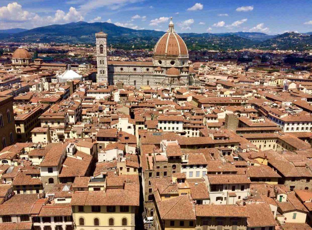 Вид на собор Флоренции