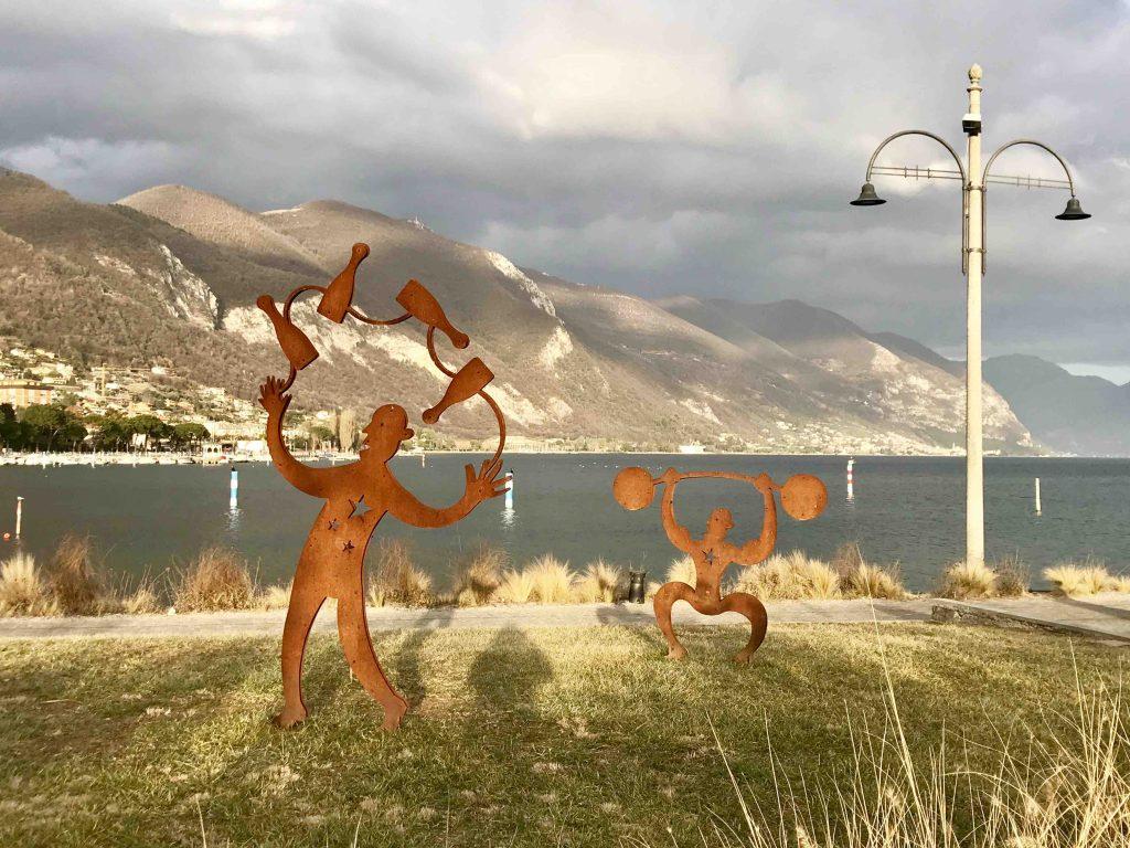 Набережная озера Изео