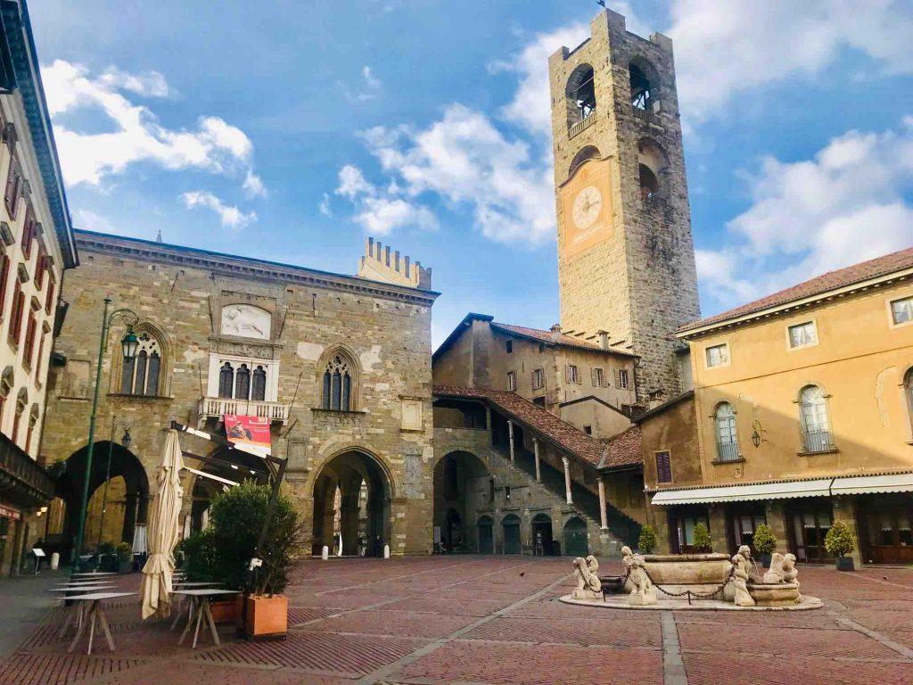 Главная площадь Бергамо
