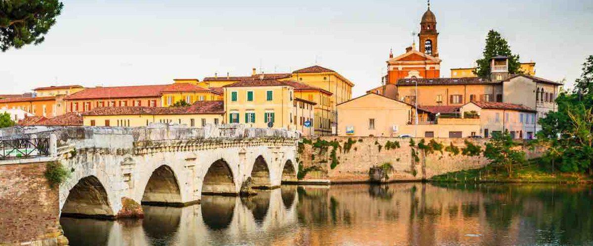 Мост города Римини
