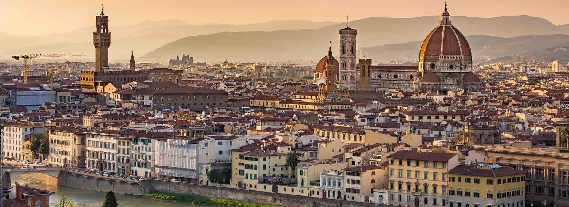 панорама города Флоренции