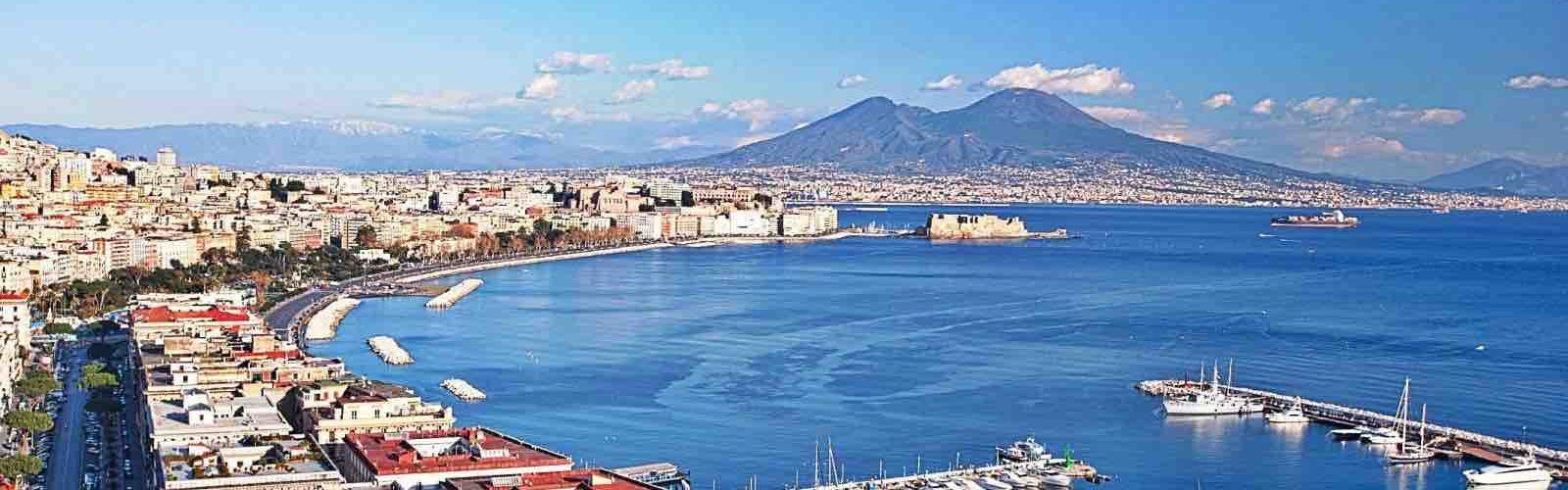 Панорама в Неаполе во время экскурсии