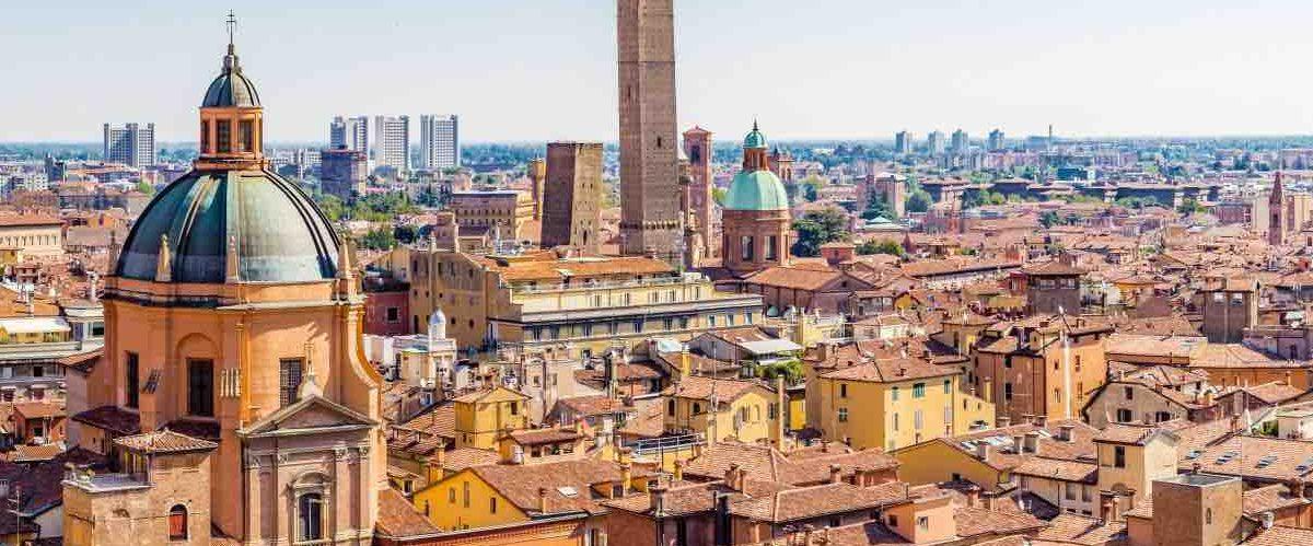 Вид над Болоньей