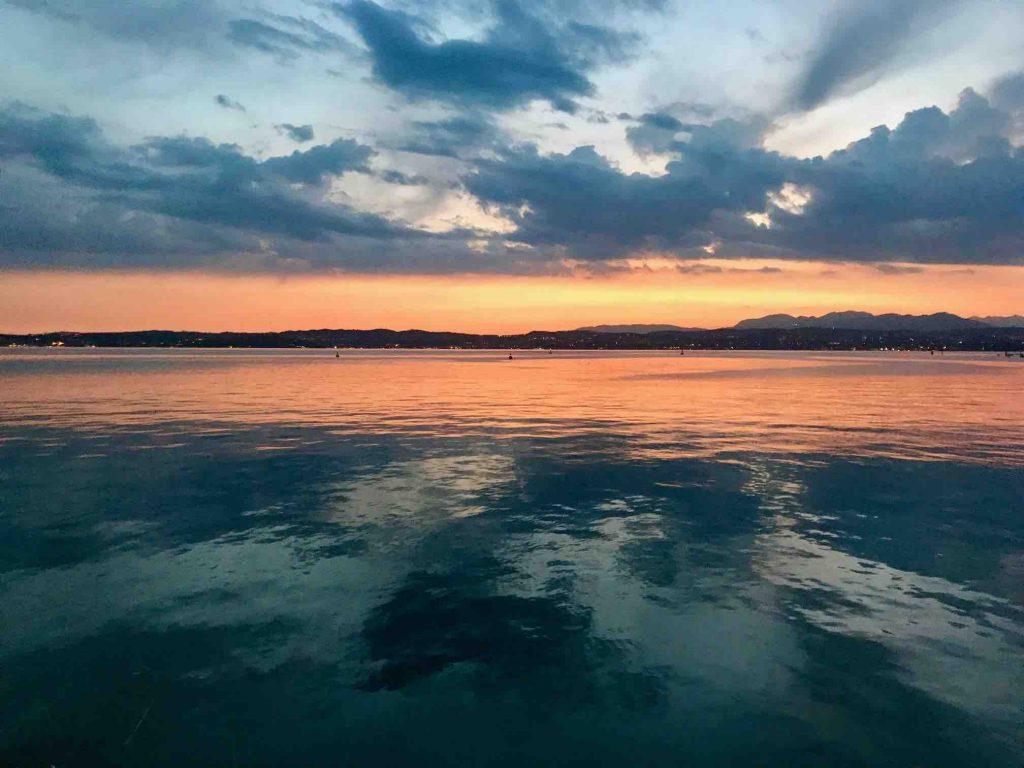 Закат в Сирмионе